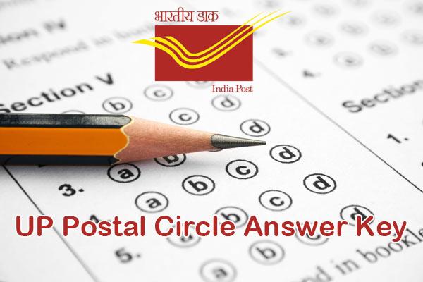 UP Postal Circle Answer Key