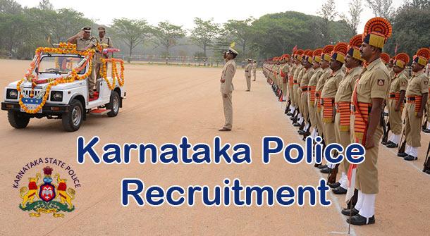 Karnataka Police Recruitment - Apply Online