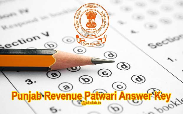 Punjab Revenue Patwari Answer Key Available for Download