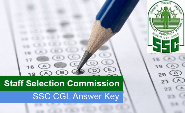 SSC CGL Answer Key Officially Available - Download SSC CGLE Paper Solutions