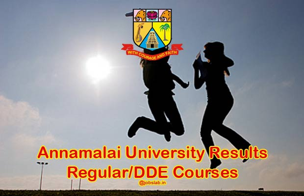 Annamalai University Results 2016 for Nov/Dec 2015 Exam Available