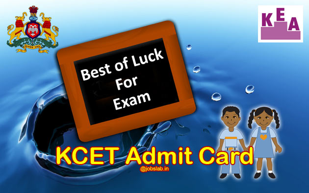 KCET Admit Card 2016 Download KCET Hall Ticket/Admission Ticket