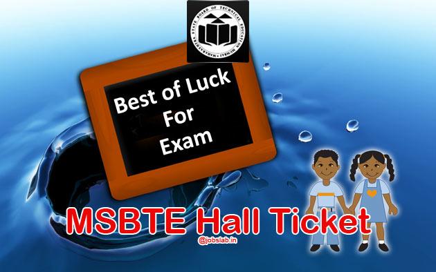 msbte-hall-ticket