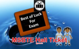 MSBTE Hall Ticket Winter 2017 for Diploma Polytechnic (W17) Exam @msbte.com