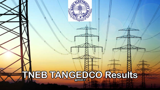 TNEB AE Results 2016 Check Assistant Engineer Merit List