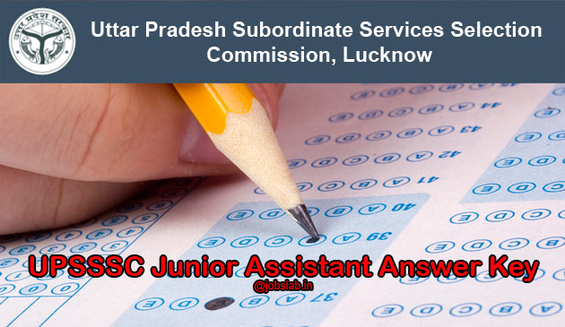 UPSSSC Junior Assistant Answer Key 2016 Available for 24th April Exam