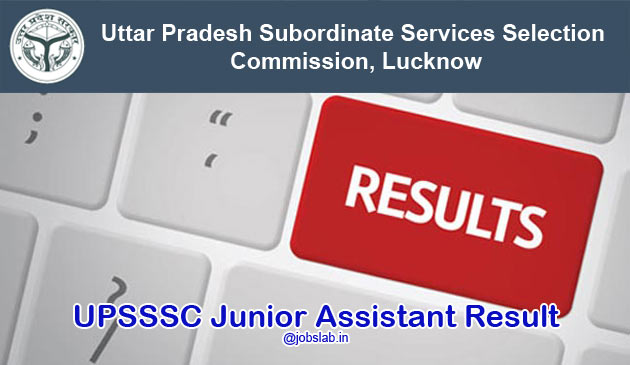UPSSSC Junior Assistant Result 2016 Available for 24th April Exam