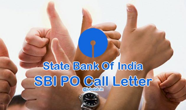 SBI PO Call Letter 2017 Download SBI PO Admit Card