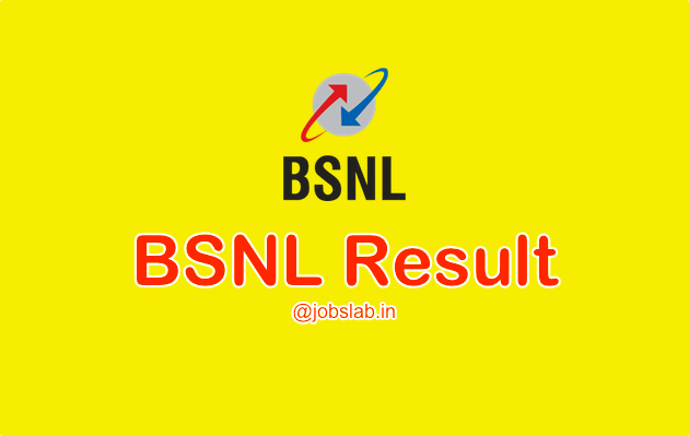BSNL Result 2016 Check BSNL JE Results