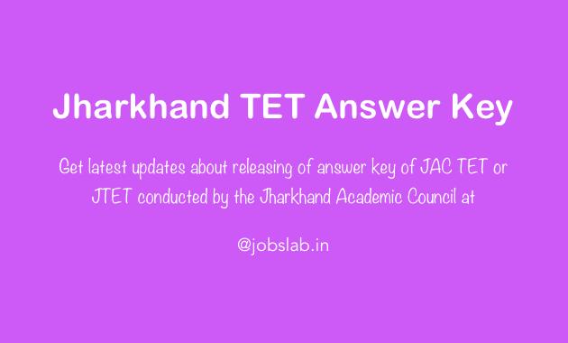 jharkhand-tet-answer-key-jac-tet-answer-key