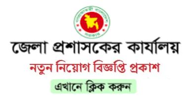 Photo of District Council Office Job Circular 2019