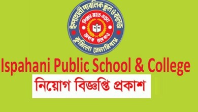 Photo of Ispahani Public School and College Job Circular 2019