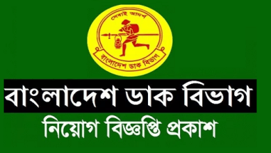 Photo of Post Office Job Circular 2019
