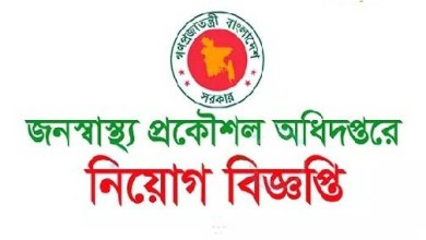 Photo of Department of Public Health Engineering Job Circular 2019