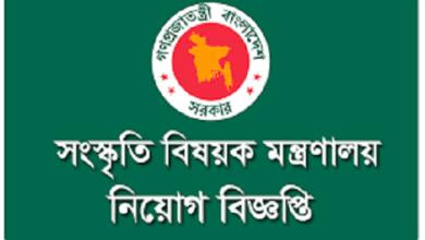 Photo of Ministry of Cultural Affairs Job Circular 2019