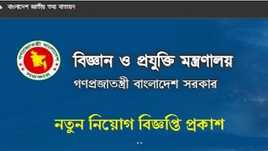 Photo of Ministry of Science and Technology Job Circular 2019