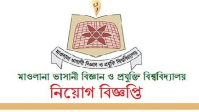 Photo of Mawlana Bhashani Science and Technology University Job Circular 2020