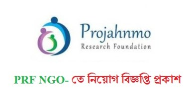 Photo of Projahnmo Research Foundation job circular 2020