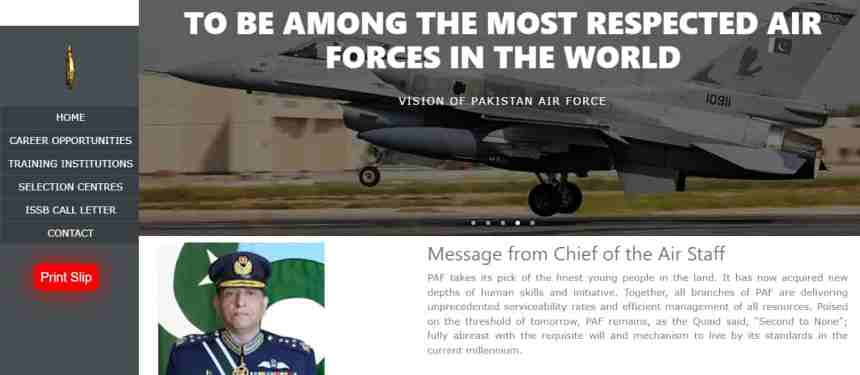 How To Check PAF Civilian Merit List 2021
