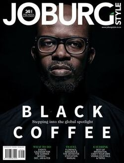 Joburgstyle Magazine Issue 39 Black Coffee Cover