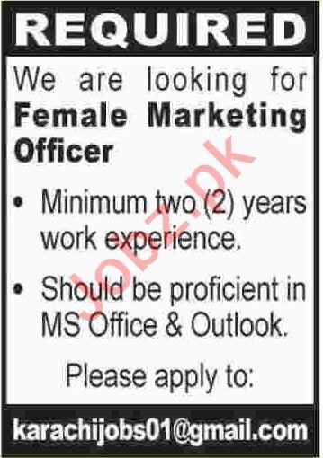 Latest Private Company Marketing Posts Karachi