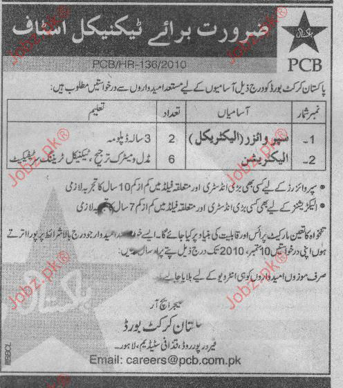 Supervisor Electrical Electrician Job Opportunity 2019