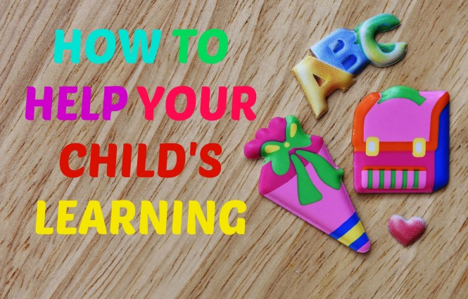 how to help with your child's learning