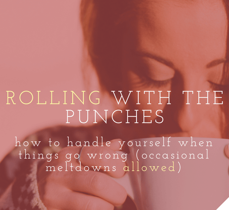 rolling with the punches how to handle yourself when things go wrong