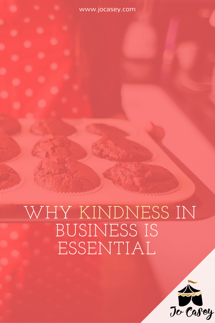 And interview with Lara Heacock - why kindness in business is essential
