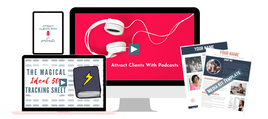 Attract Clients With Podcasts mockup