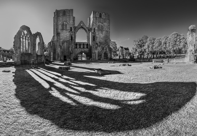 Elgin Cathedral, Panoramen