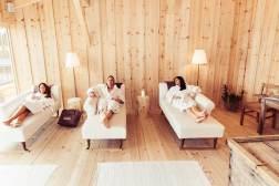 Ruheraum im Wellnesshotel vom Berghotel Jochgrimm in Südtirol