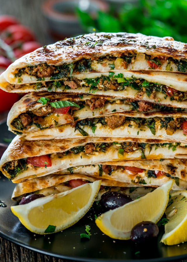 Jocooks | Turkish Gozleme with Lamb