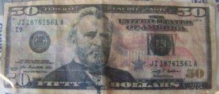 Counterfiet 50 Bill