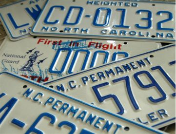 license plate 5-26-15