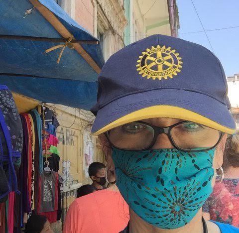 Margherita (Margo) Scott in Katmandu, Nepal