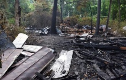 Juiper Church Road Fire
