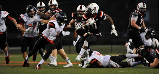 Campbell Football Scrimmage
