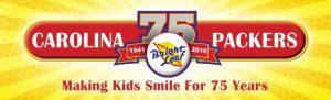 Carolina Packers 75th Anniversary logo