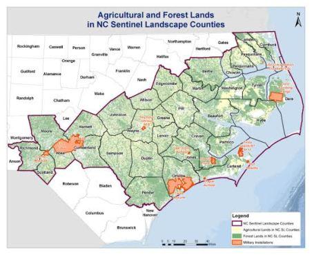 Sentinel Landscape Map
