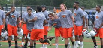 campbell football camp