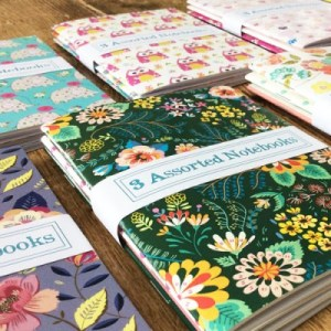 A6 Notebook Sets of 3 - £2.99