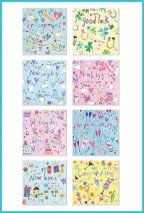 Occasion Card Pack of 8 occasion greetings cards £8.90