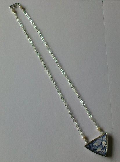 Pottery, Sterling Silver and Pearls