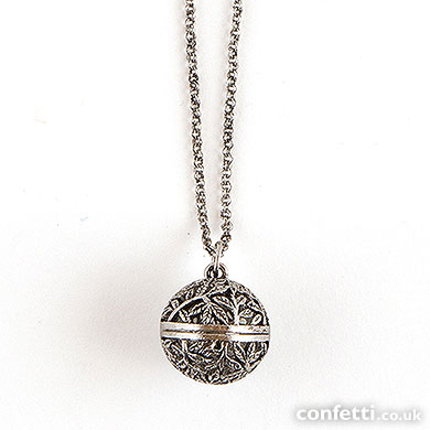 Filigree Orb Locket from confetti.co.uk
