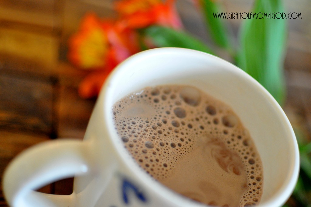 how to make hot chocolate with almond milk