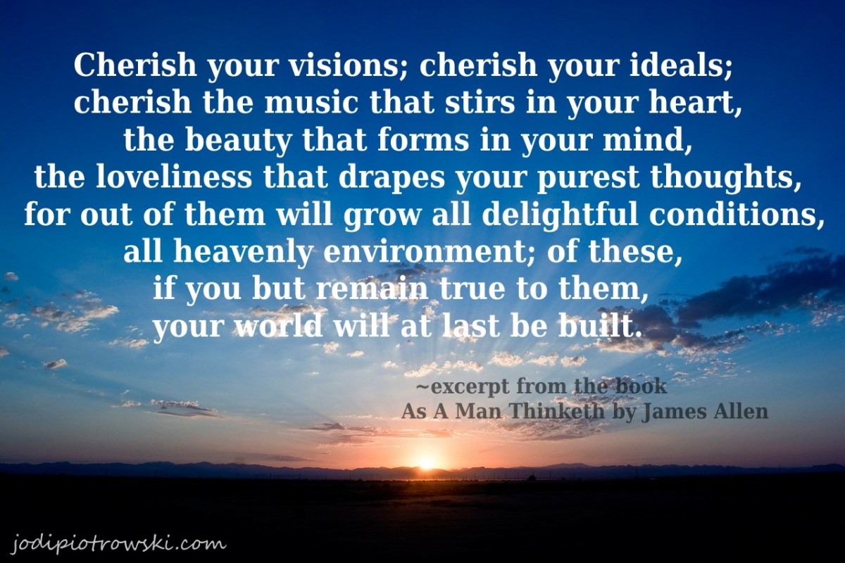 Think Like A Man Book Quotes: Quote From As A Man Thinketh By James Allen #2