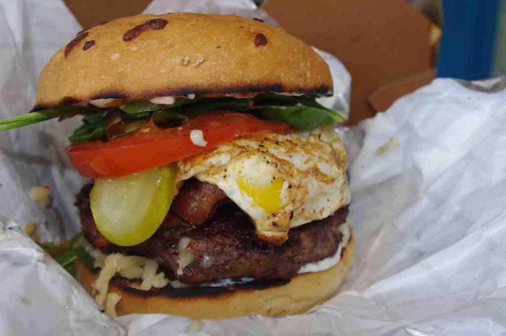 Loaded burger