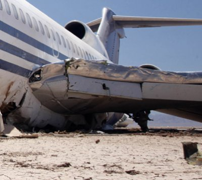 Wing of a Plane crash