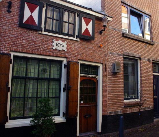 Alms House Haarlem holland netherlands